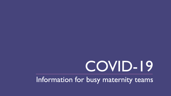 COVID-19 newsletter No 1 (27 March 2020)