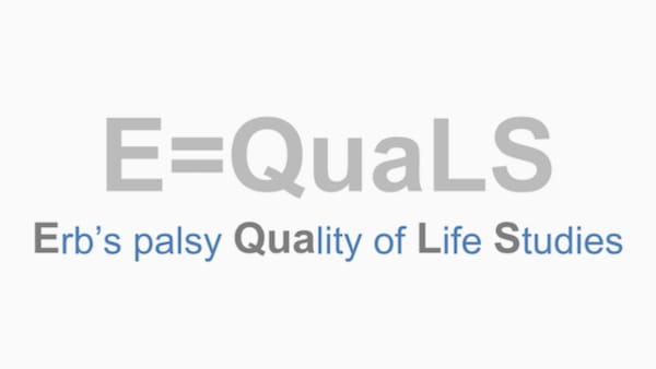 Erb's palsy quality of life study