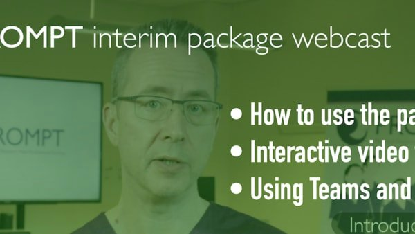 Interim package webcast