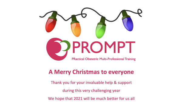 PROMPT Christmas Message