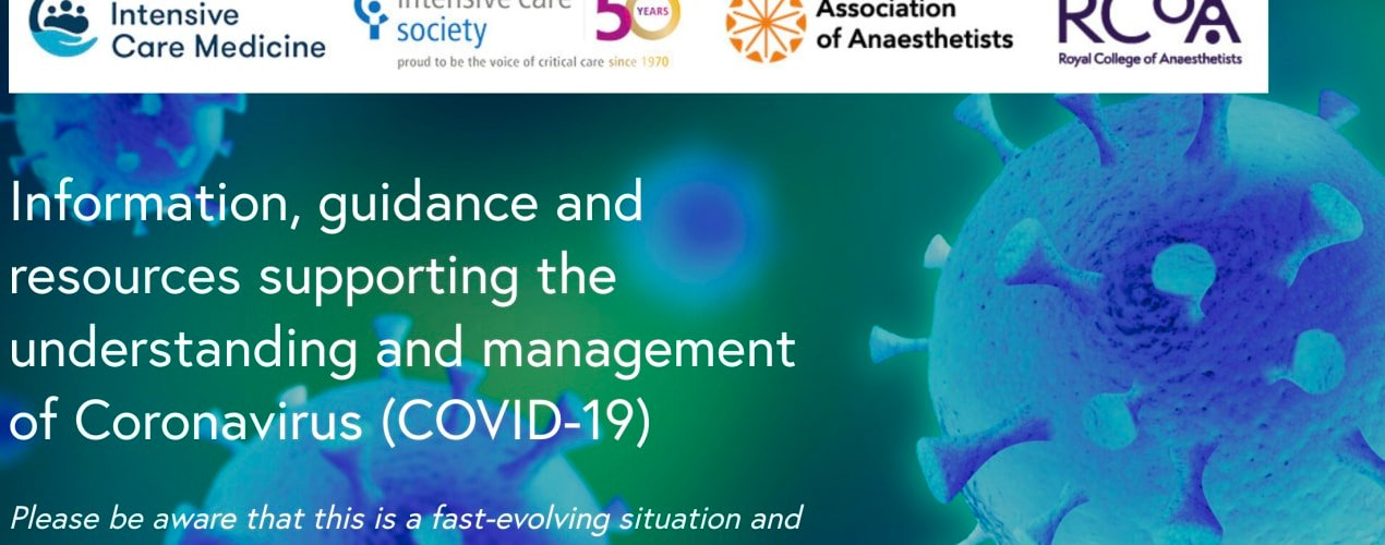 RCOA Information, guidance and resources supporting the understanding and management of Coronavirus (COVID-19)